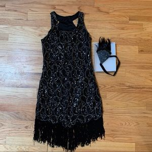 FLAPPER GIRL COSTUME MEDIUM